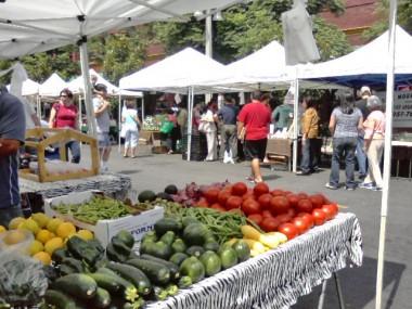 Farmers Market in Riverside, California