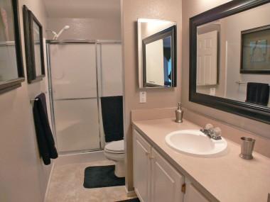Lovely private master bathroom.