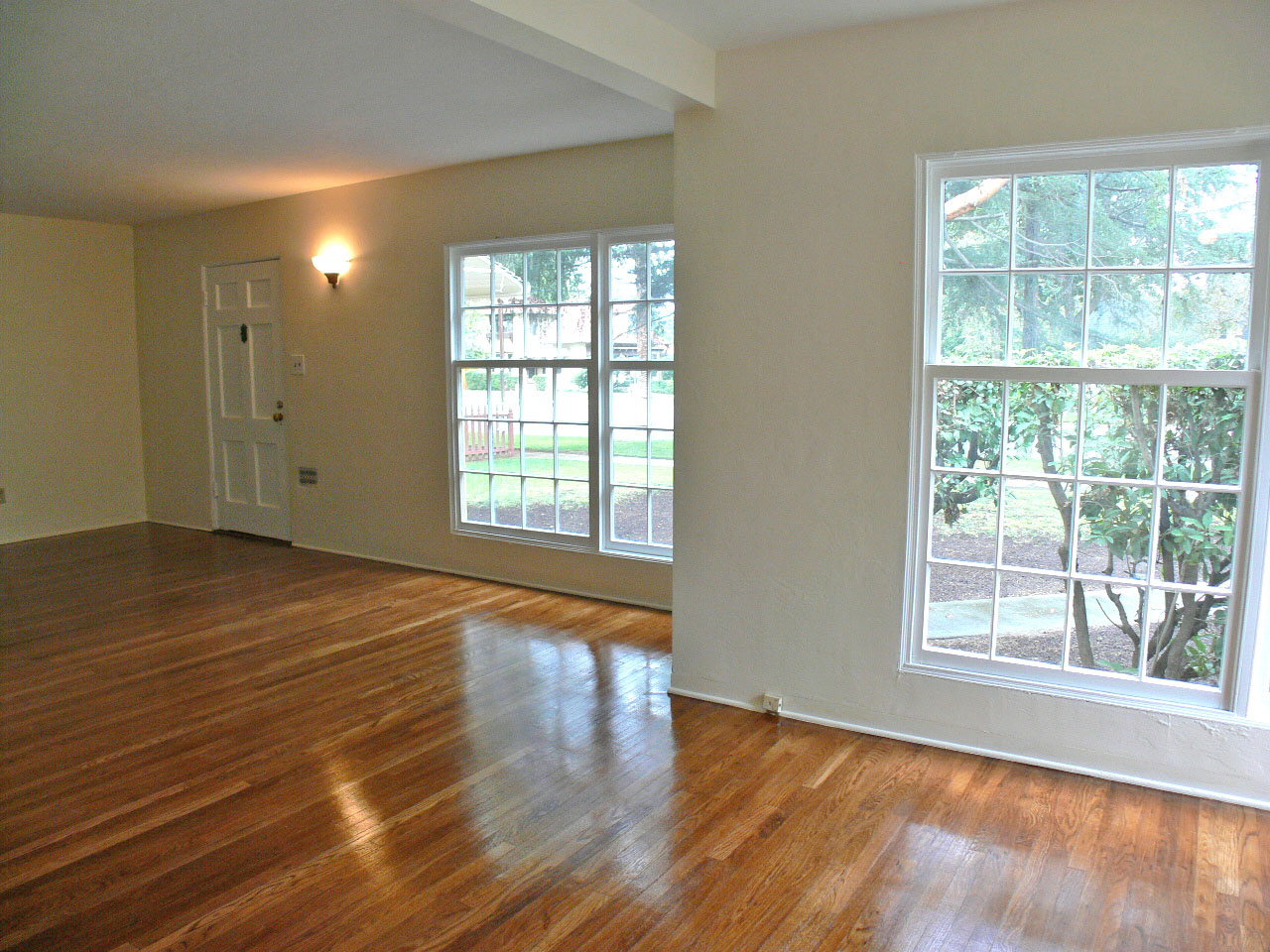 Alternate View Of Living Room And Dining Room. Large Windows Let In Loads  Of Natural