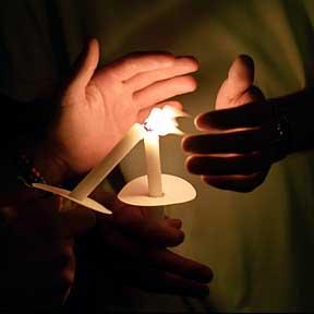 candelight vigil in honor of Officer Ryan Bonaminio