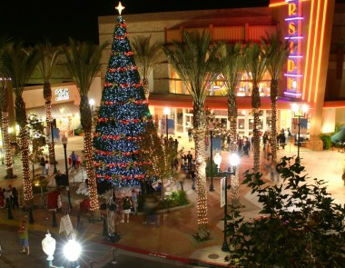 Riverside Plaza Christmas Tree - 2009
