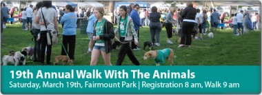 19th Annual Walk With The Animals, Riverside CA