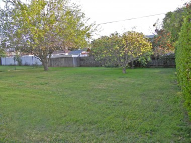 Wow! What a great backyard! Spacious enough for a pool, or whatever suits your needs!  Don't forget the 2-car detached garage that's finished on the inside!