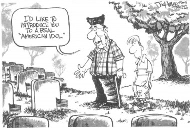 Memorial Day cartoon 2011