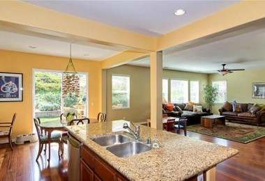 Noble View kitchen - sold by THE SISTER TEAM