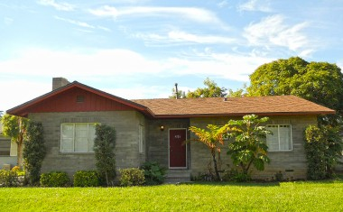 4326 Linwood Pl, Riverside.  Only 2 owners of this 61-yr-old block home!