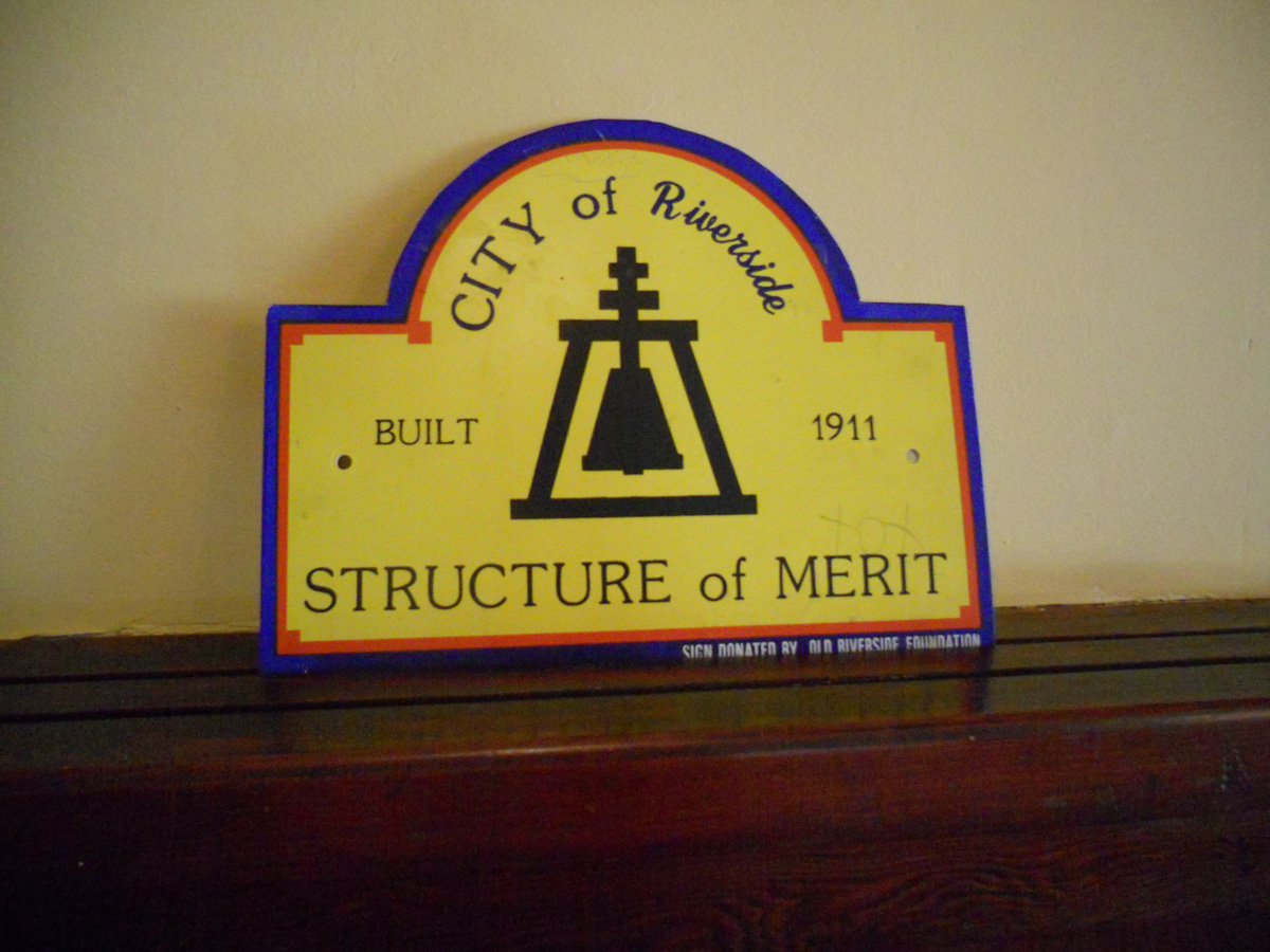 City of Riverside Structure of Merit  #210