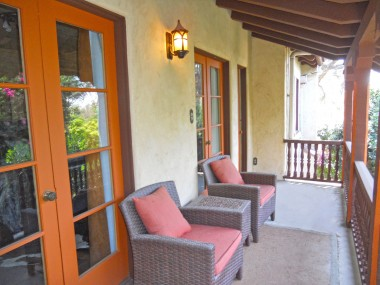 This lovely balcony is accessible by the middle and master bedrooms. Ahhh, can you smell the morning coffee and hear the local song birds???