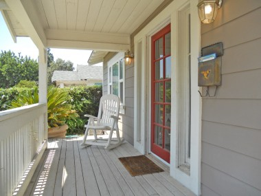 Newer non-wood (better than wood) porch rehab.