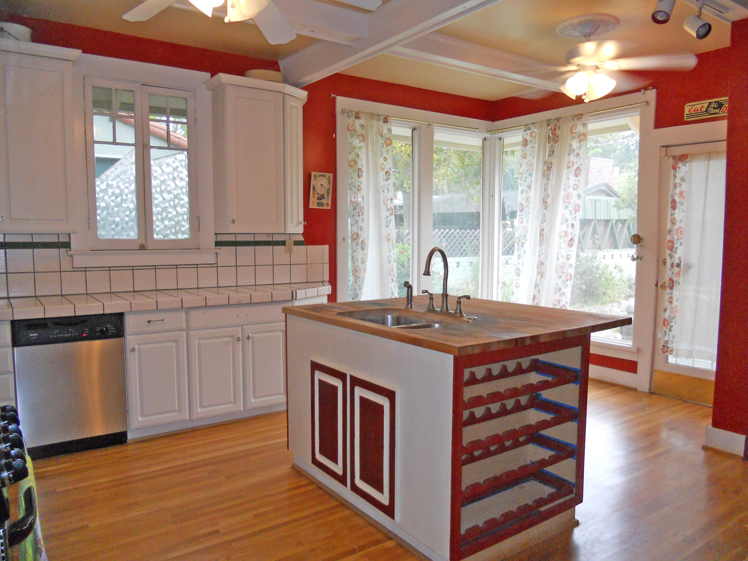 Kitchen needs some finishing touches, but it has great space to work with.