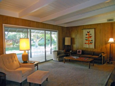 Alternate view of family room overlooking the park-like backyard!