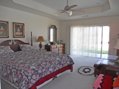 Permitted bedroom addition overlooking the backyard and incredible view!