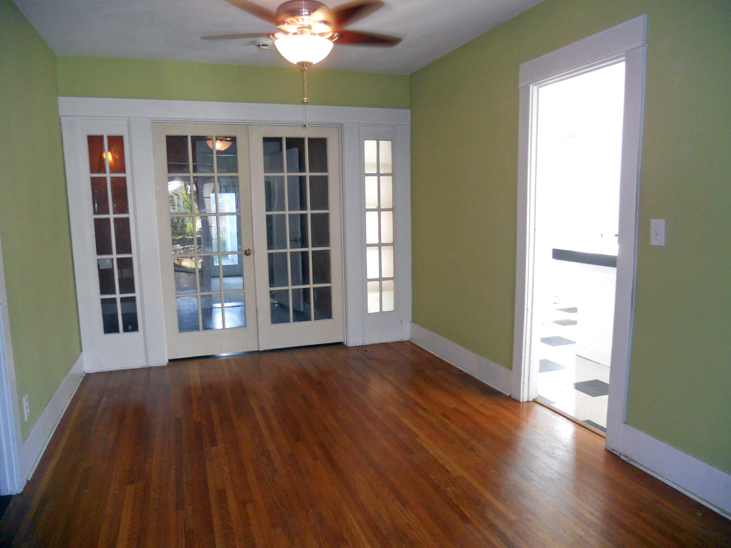 Formal Dining Room With French Doors That Separate This From The Bonus