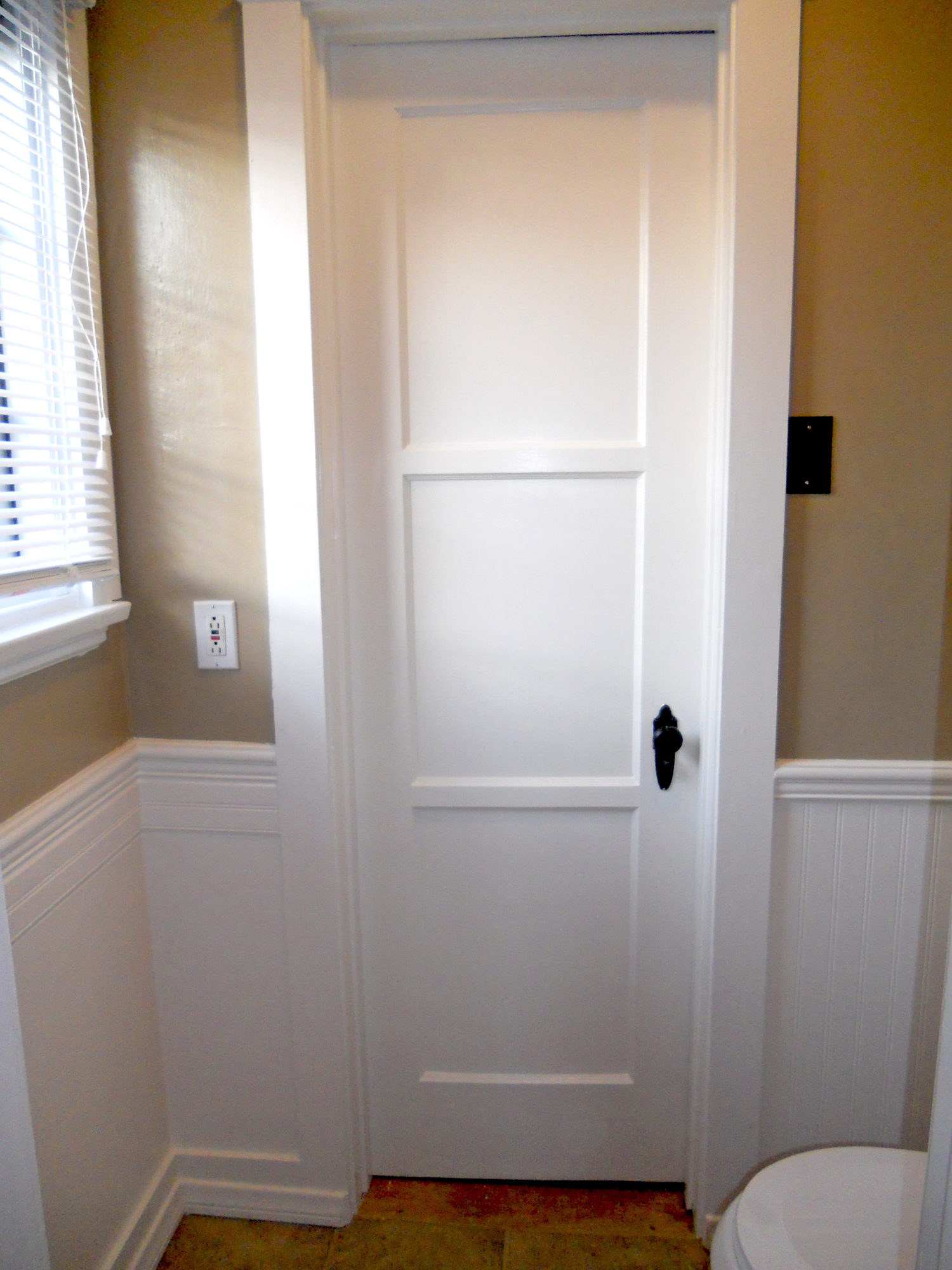 Ideal Water closet in second bathroom