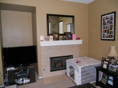 a-family room fireplace