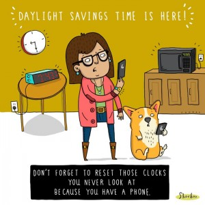 Daylight Saving Time 2013