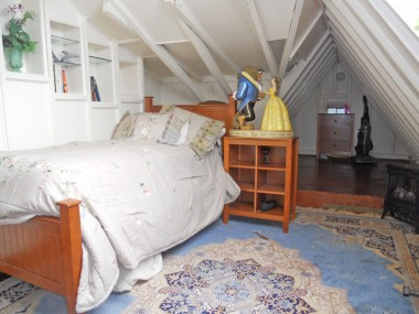 One of the four bedrooms upstairs.