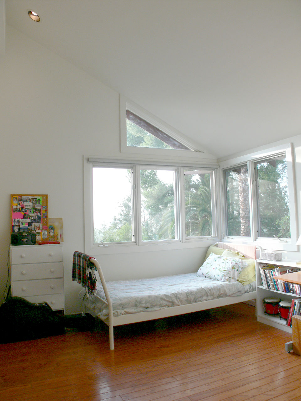 Third upstairs bedroom with awesome views.