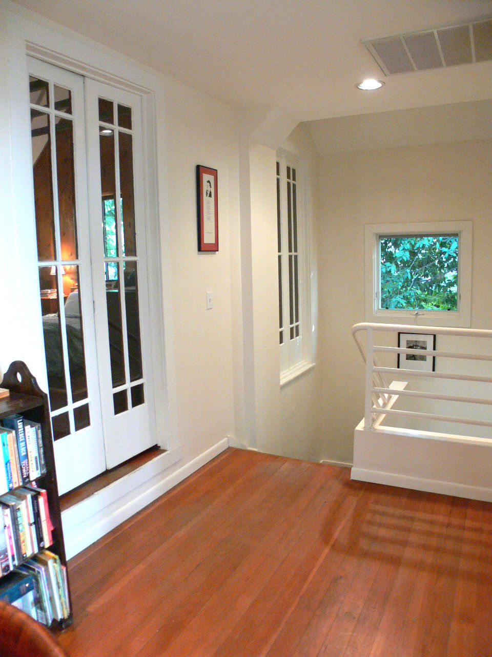 Landing at the top of the stairs to three bedrooms.
