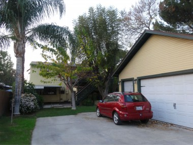 2 1/2-car garage with lots of storage and plenty of parking too (more gated parking on side of garage).