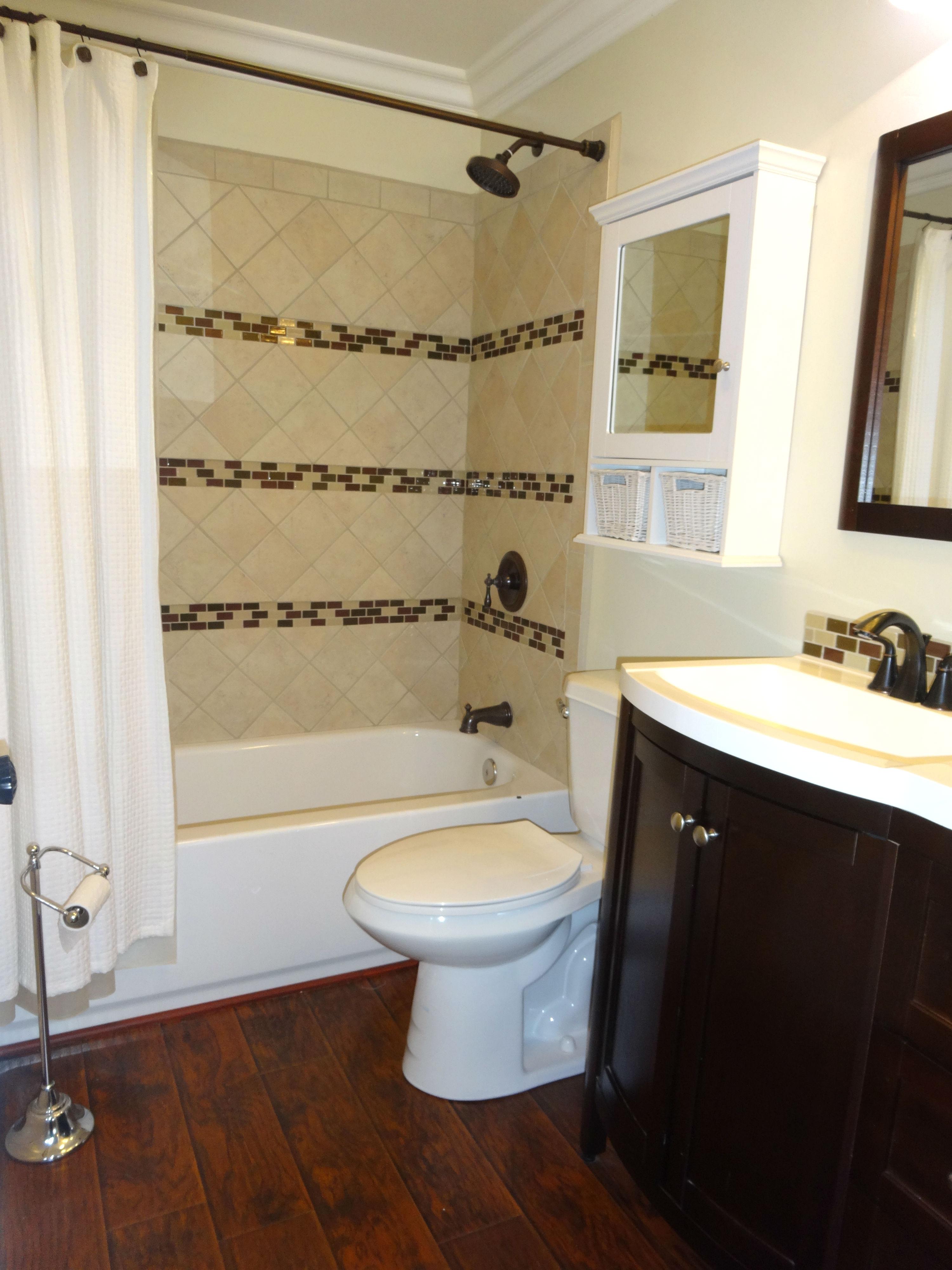 Popular Remodeled master bathroom