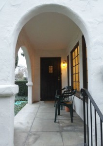 Right side front porch.