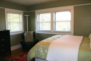 All of the bedrooms have three windows, thereby allowing in lots of natural light.