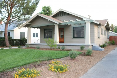 Alternate angle of this 1922 California bungalow!