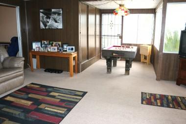 alternate view of bonus room