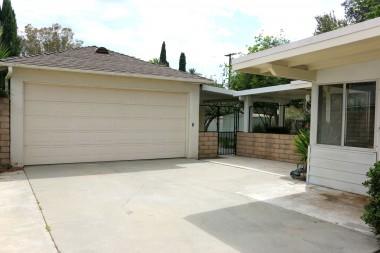 garage front 2-car