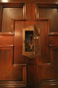 inside door peekaboo
