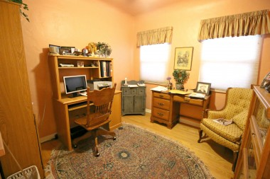 This is a dedicated office (no closet), but could be used as a 4th bedroom if needed.