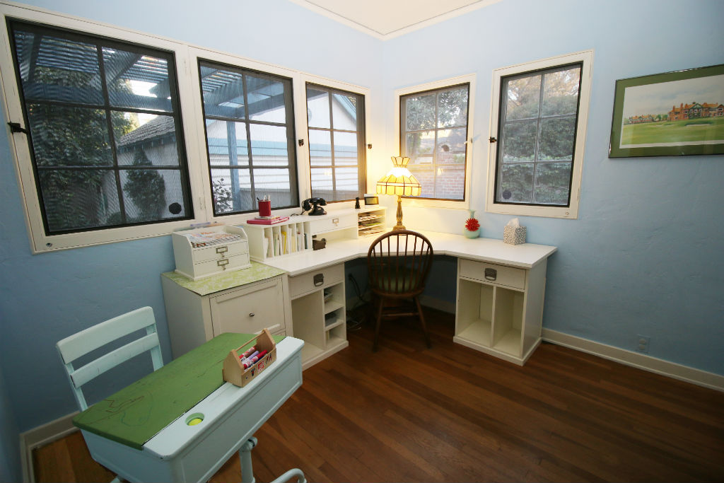 Downstairs office could be a guest room since there is an adjoining 3/4 bathroom.