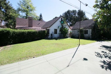Expansive backyard -- room for a pool or set up a net and hit the tennis ball back and forth.