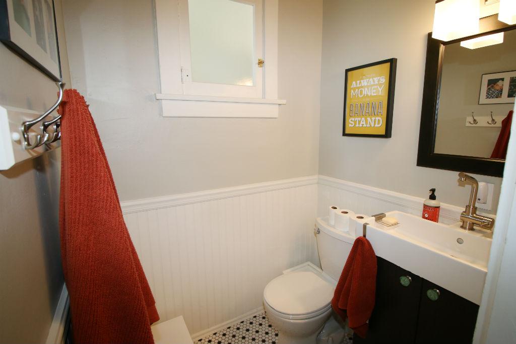Private remodeled master half bath