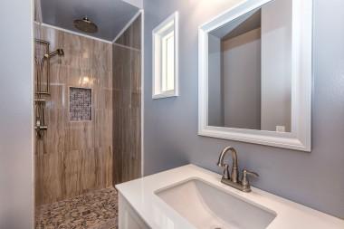Remodeled master bathroom!