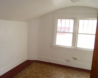 First of three upstairs bedroom.