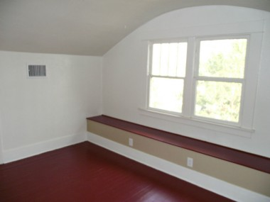 Second of three upstairs bedrooms.