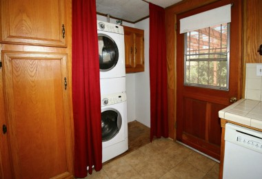 Kitchen pantry and laundry area -- stackable washer/dryer are negotiable.