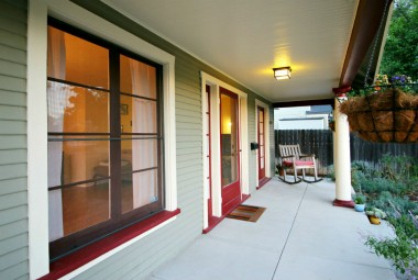 Amazing front porch, perfect for saying hello to walking neighbors and enjoying your morning coffee.