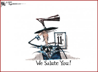 Happy Veterans Day! WE SALUTE YOU!!!!