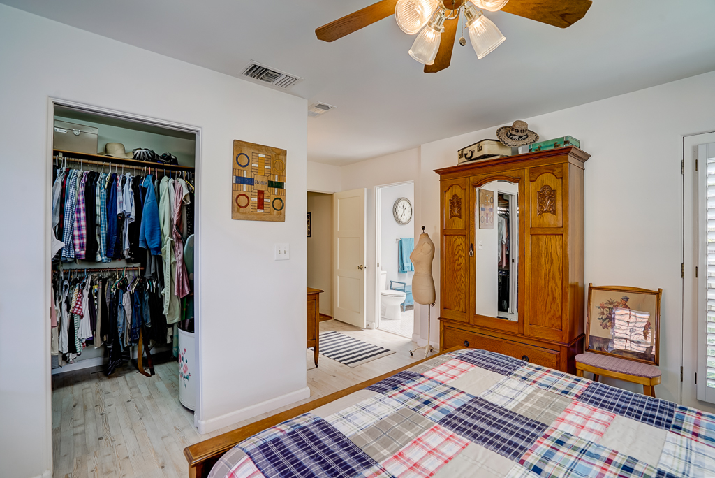 Yet Another View Of Master Suite With Large Walk In Closet (a Rarity In