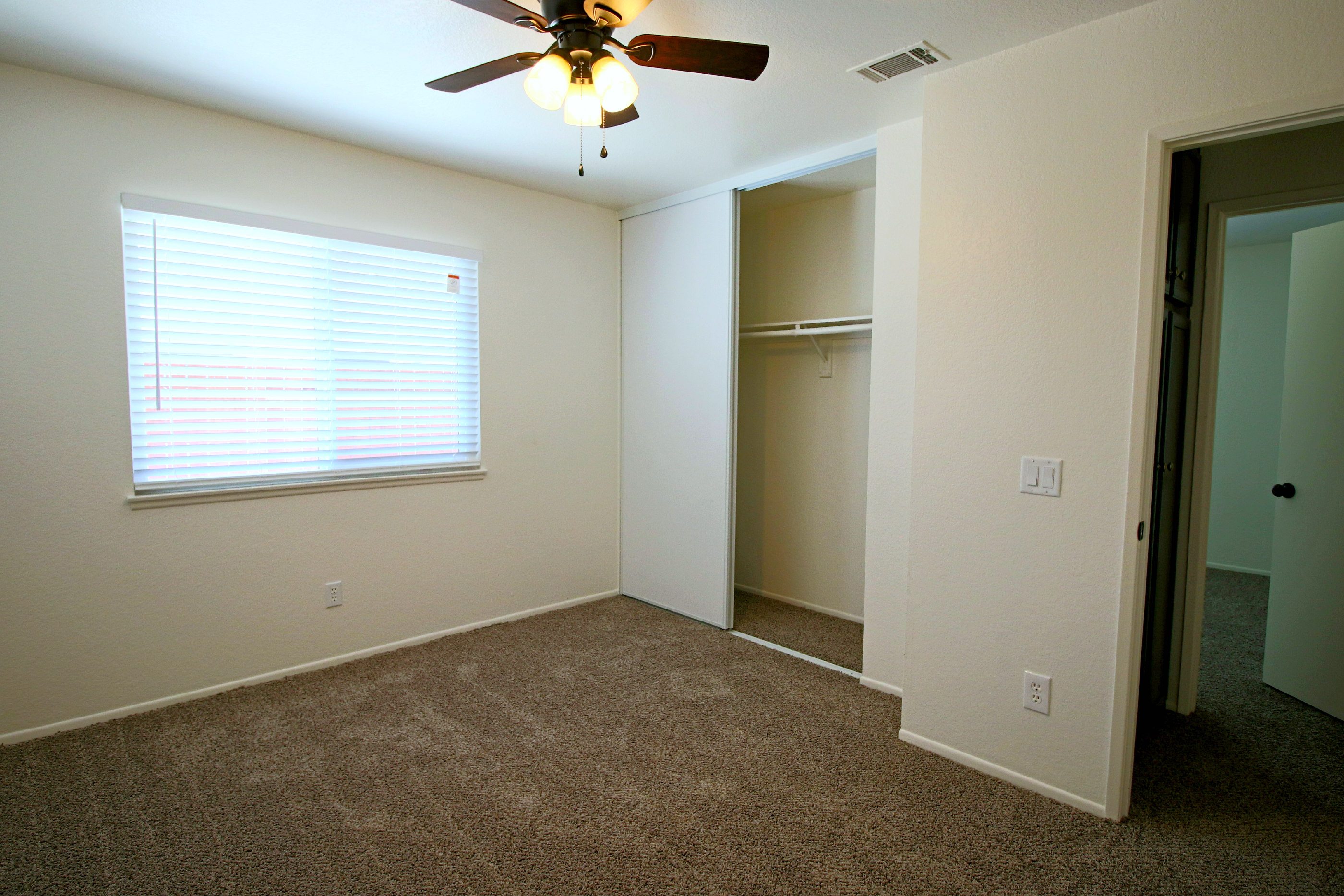 Third Of Four Bedrooms (all With New Carpet, New Paint, New Double Pane