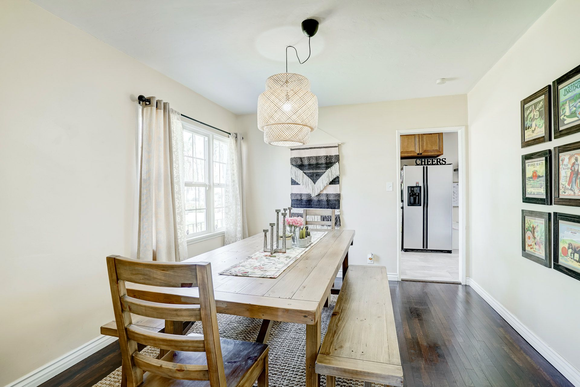 Large formal dining room