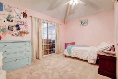 Bedroom #2 is also accessible through bonus room.