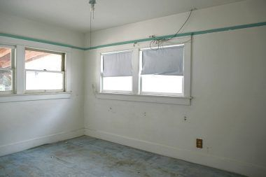 Back bedroom overlooking the back and side yard.