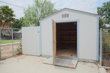 Front Tuff Shed in very good condition.