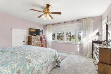 Front bedroom overlooking Brockton Avenue.