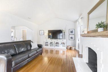 Alternate view of living room.
