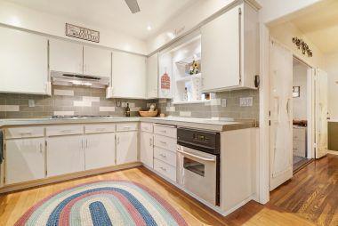 Alternate view of kitchen.